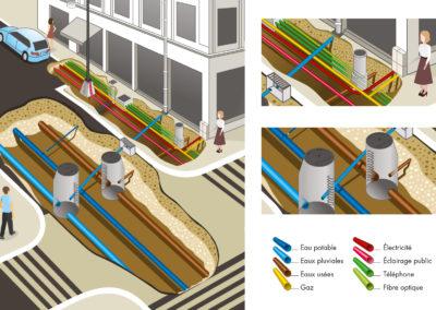 Mairie de blois | création d'illustration à blois loir-et-cher (41)