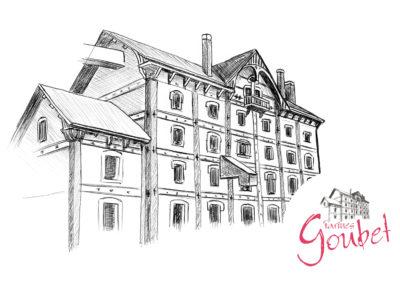 Minoteries Goubet | création d'illustration à blois loir-et-cher (41)